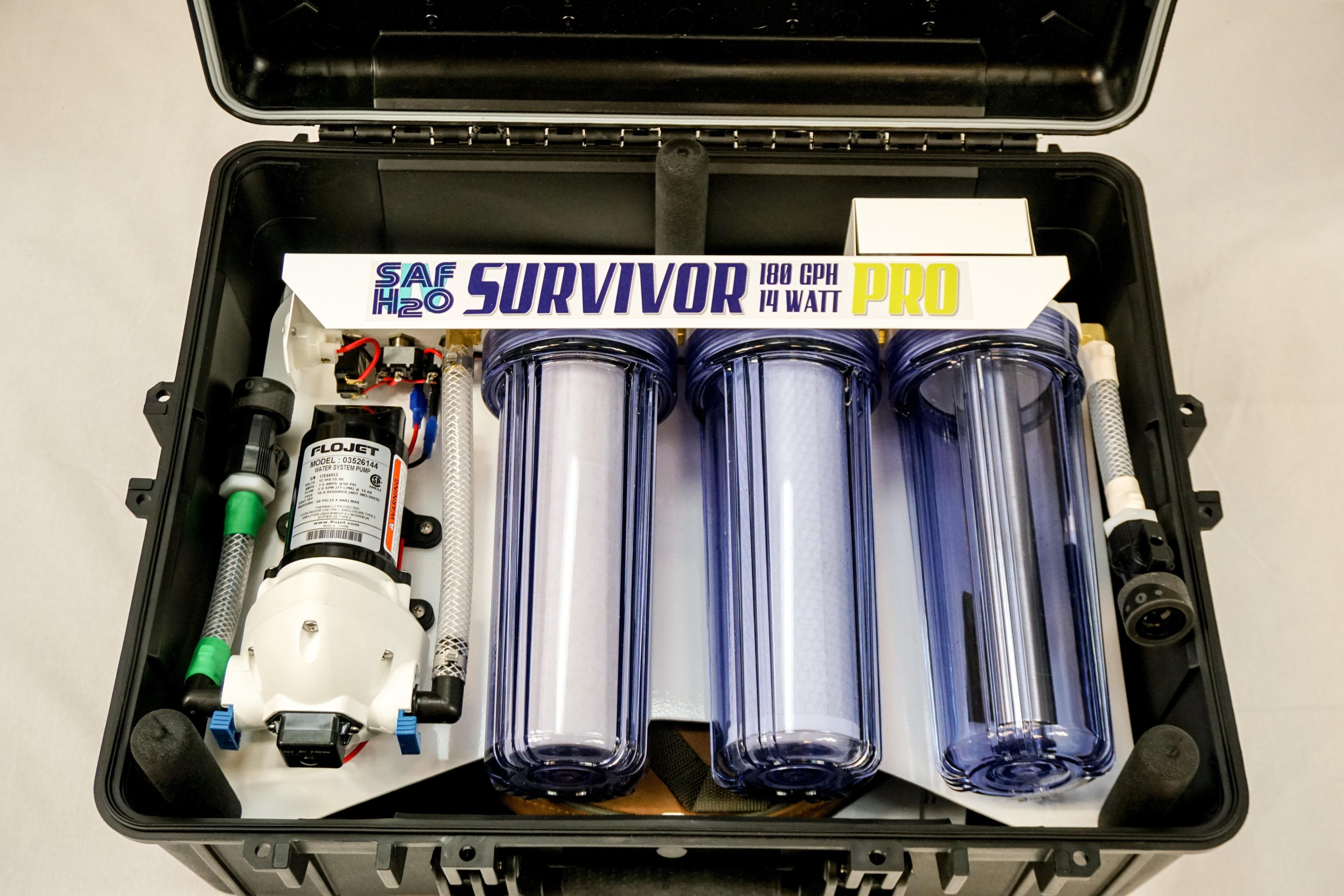 Survivor 12v Portable Water Purification System